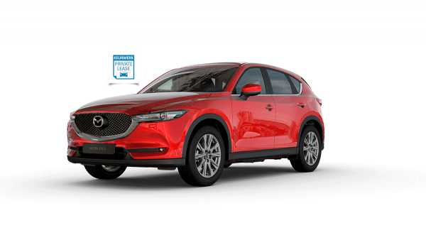 CX-5 met Private Lease keurmerk